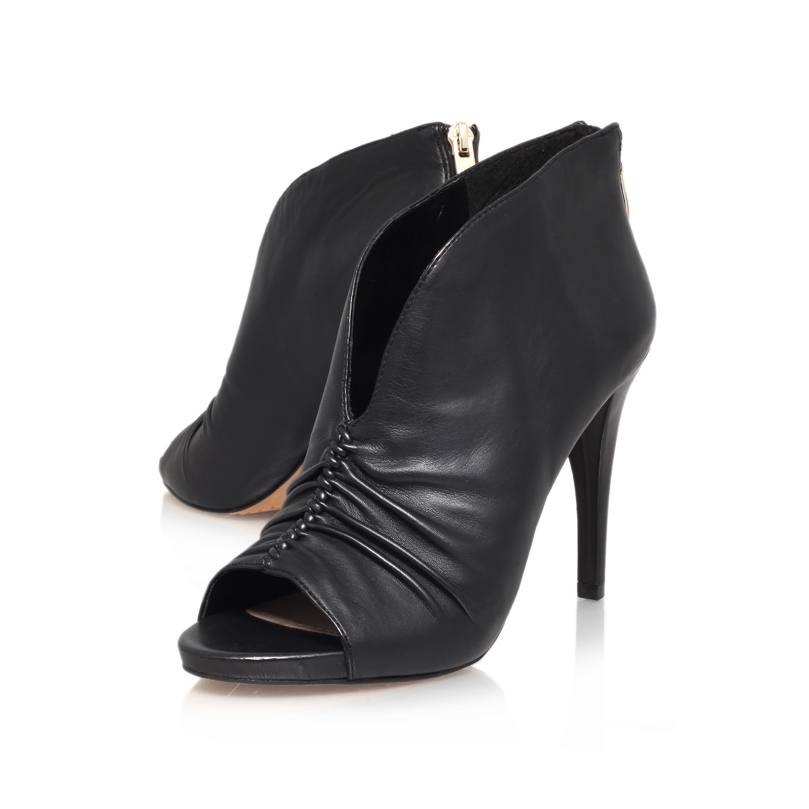 Vince Camuto Fluttery Black High Heel Boots By Vince Camuto