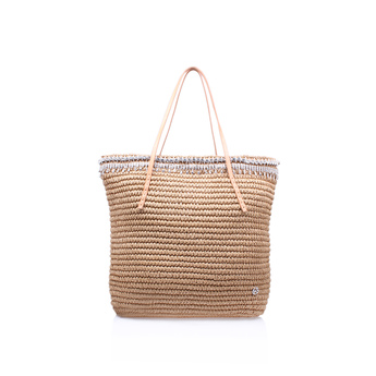 Diamante Raffia Bag from Kurt Geiger London