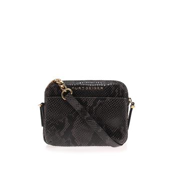 Double Zip Sml Crossbody from Kurt Geiger London