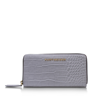 Croc Zip Around Wallet from Kurt Geiger London