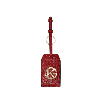 Luggage Tag Key Ring from Kurt Geiger London