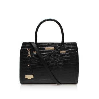Holly Croc Zip Bag from Carvela Kurt Geiger
