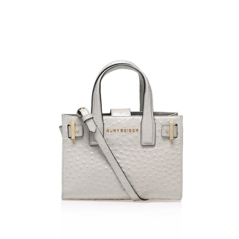 Ostrich Horiz Ldn Tote from Kurt Geiger London