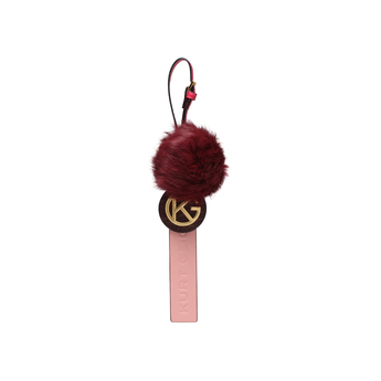 Kg Faux Fur Keyring from Kurt Geiger London