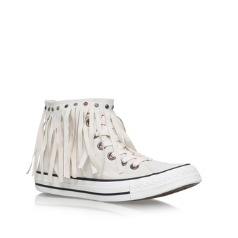Ct Wash Denim Fringe Hi from Converse