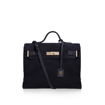 Suede Britt Tote from Kurt Geiger London