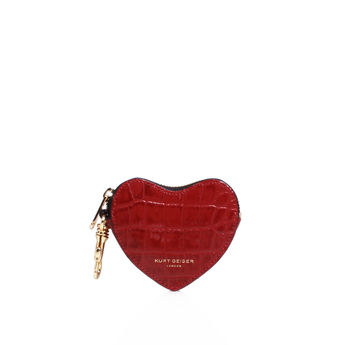 Croc Heart Purse from Kurt Geiger London