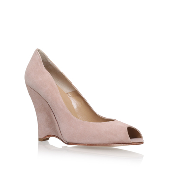 Suede Shaped Wedge from Cleo B