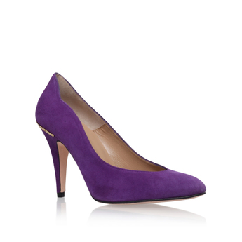 Lavender colored heels
