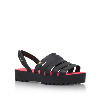 Strappy Flatbed Sandal from Melissa