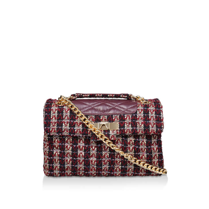 Tweed Mayfair X Bag by Kurt Geiger London