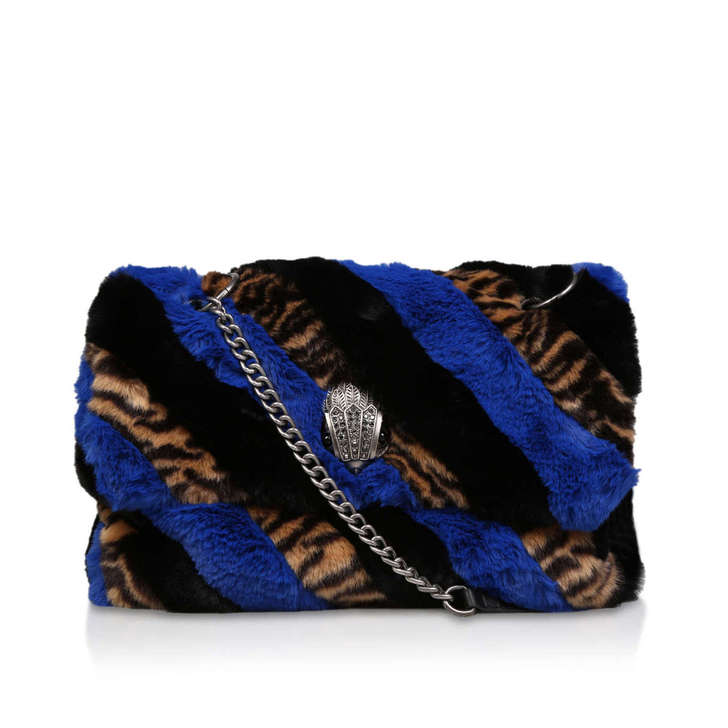 Faux Fur Xxl Soho Bag by Kurt Geiger London