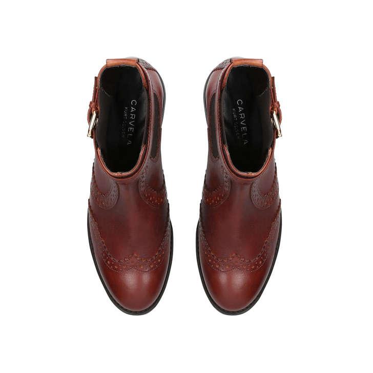 Slow Tan Western Ankle Boots By Carvela Kurt Geiger