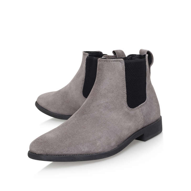Guildford Grey Chelsea Boots By KG Kurt Geiger