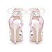 Miss Kg Tan Frenchy Heeled Sandals | Nudevotion