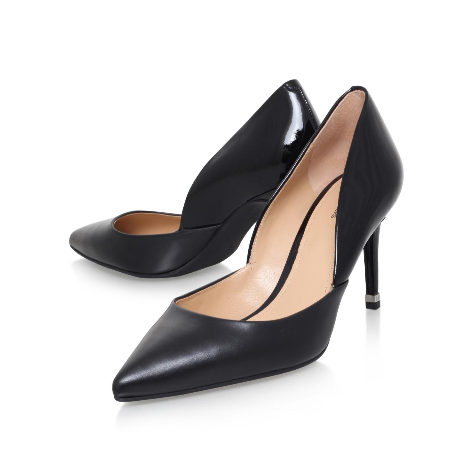 ASHBY FLEX MID PUMP Michael Michael Kors Ashby Black High Heel Court Shoes  by MICHAEL MICHAEL KORS
