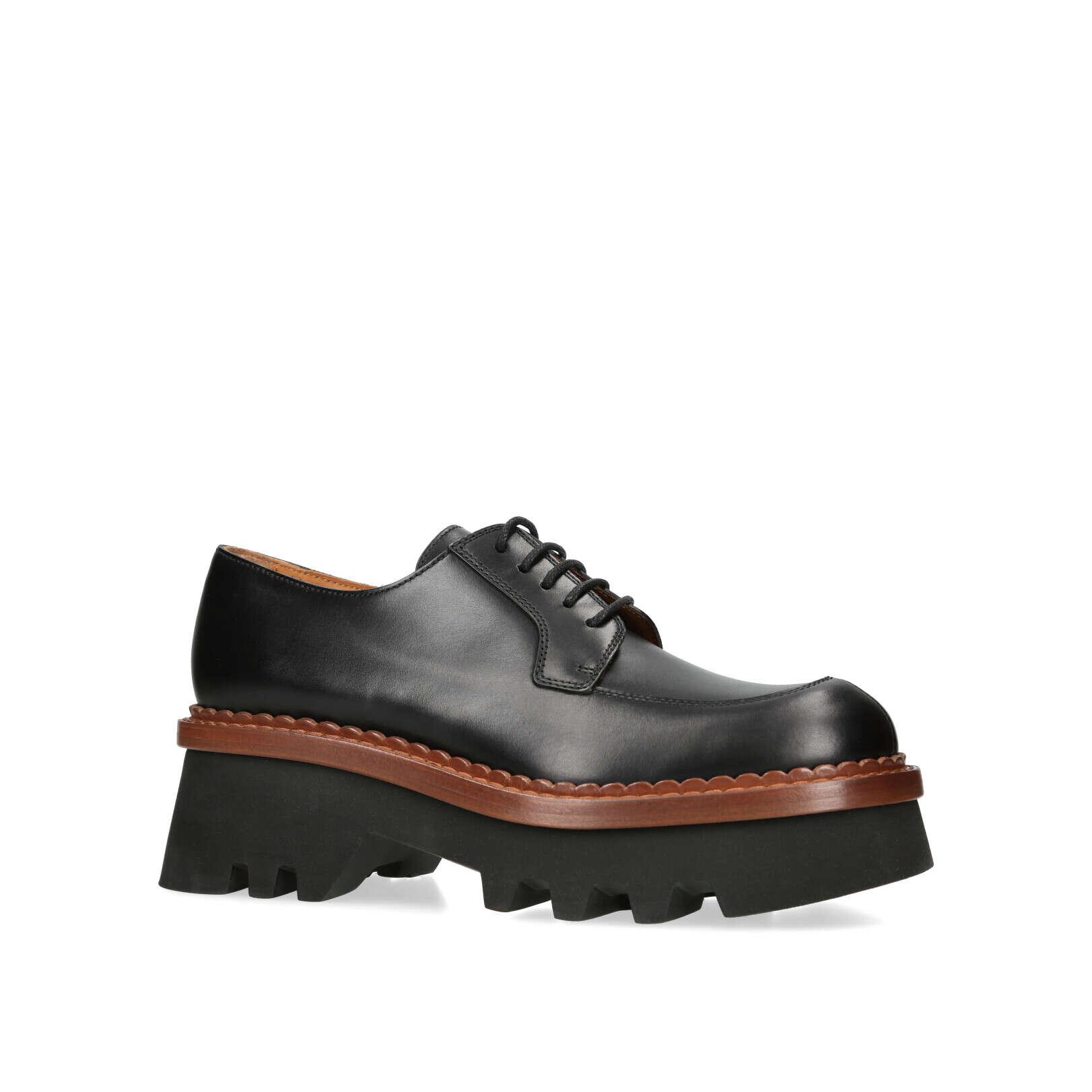 e850b6b76b7 THEA WEDGE Michael Michael Kors Thea Wedge Black Leather Ankle Boots by MICHAEL  MICHAEL KORS