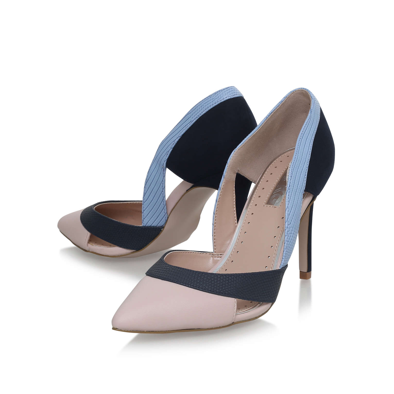 CEILE Miss KG Ceile Nude High Heel Court Shoes by MISS KG