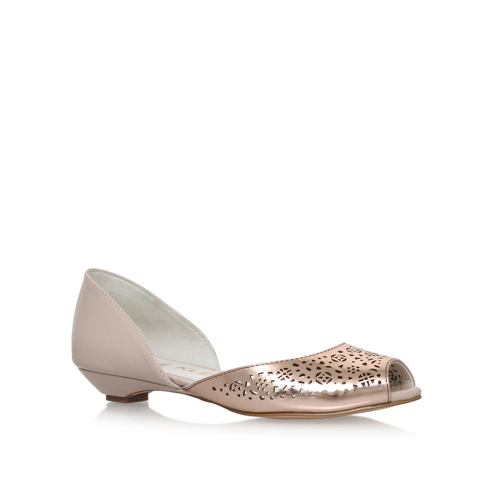 Fatima Beige Flat Shoes By Anne Klein 9i3m93p2