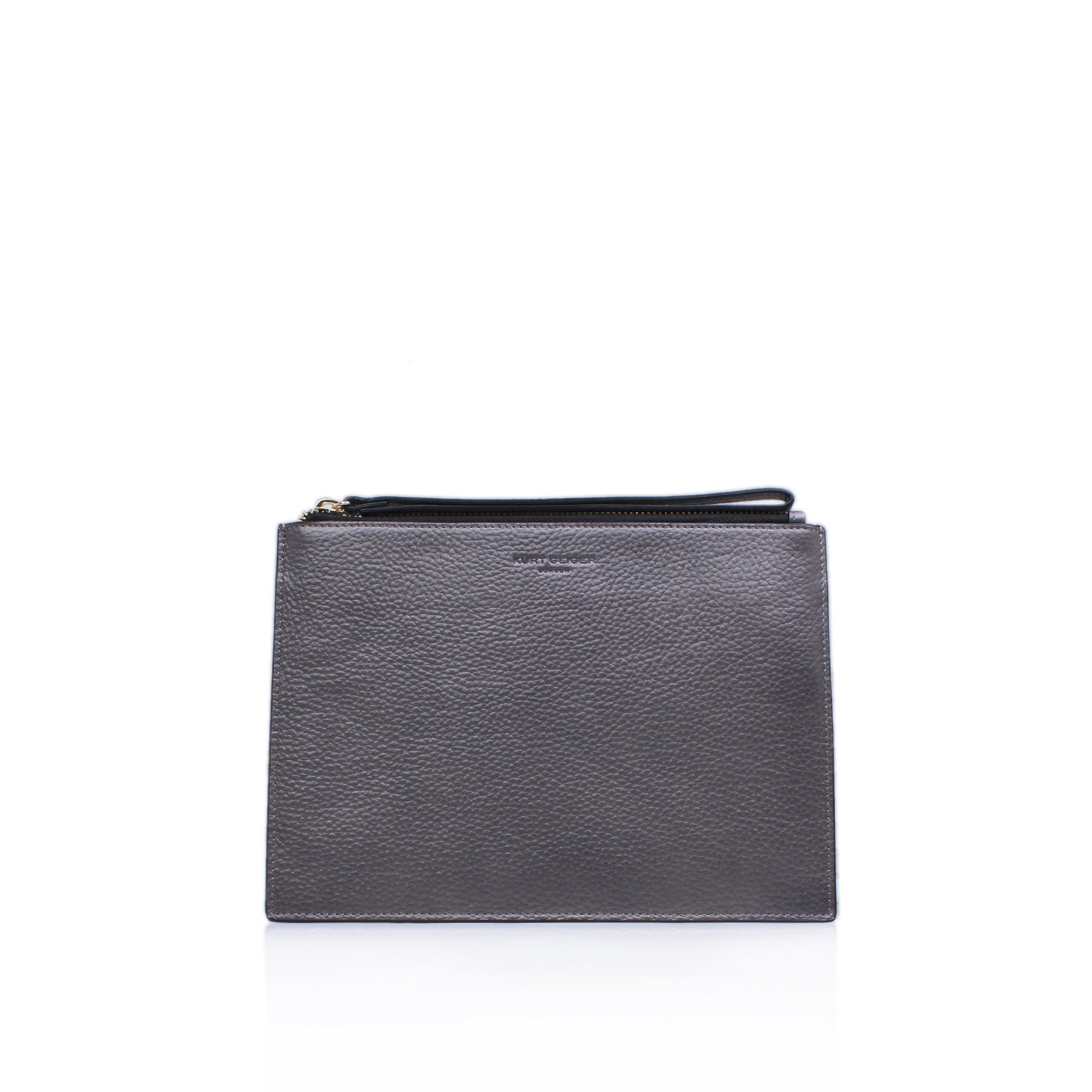 LEATHER POUCH W STRAP