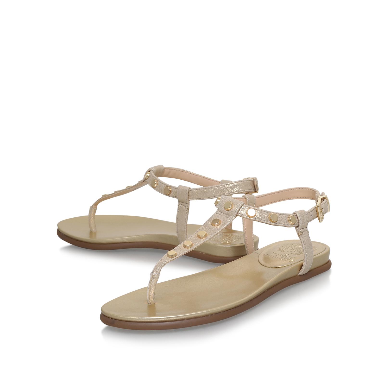 Estin Pink Flat Sandals By Vince Camuto 4s1d7ska