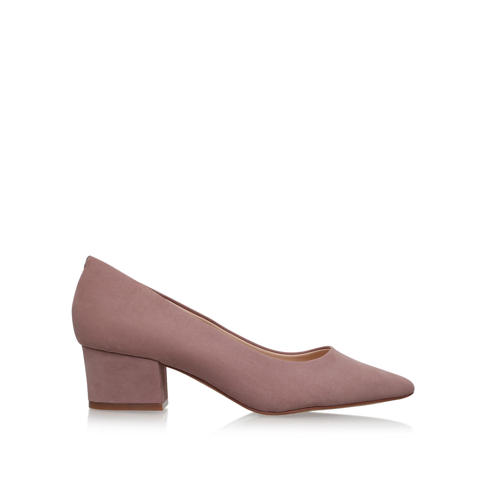 JAIDA Vince Camuto Jaida Pale Pink Mid Heel Court Shoes Block Heel by VINCE  CAMUTO b621a74e37f4