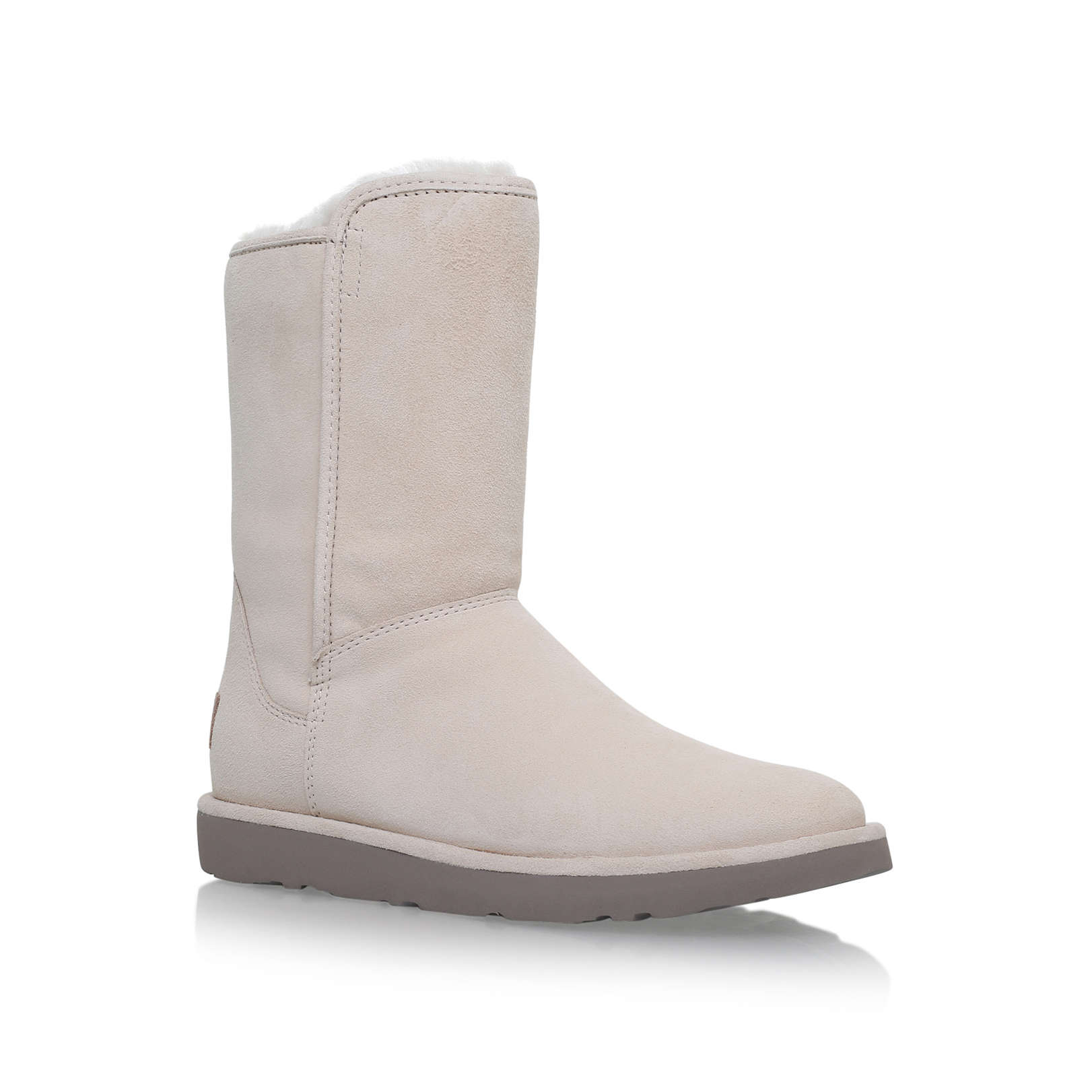 Flat Ugg Suede Calf Abree Ii White Mid By Short Boots wqxCEXAnES dd3ab6df4