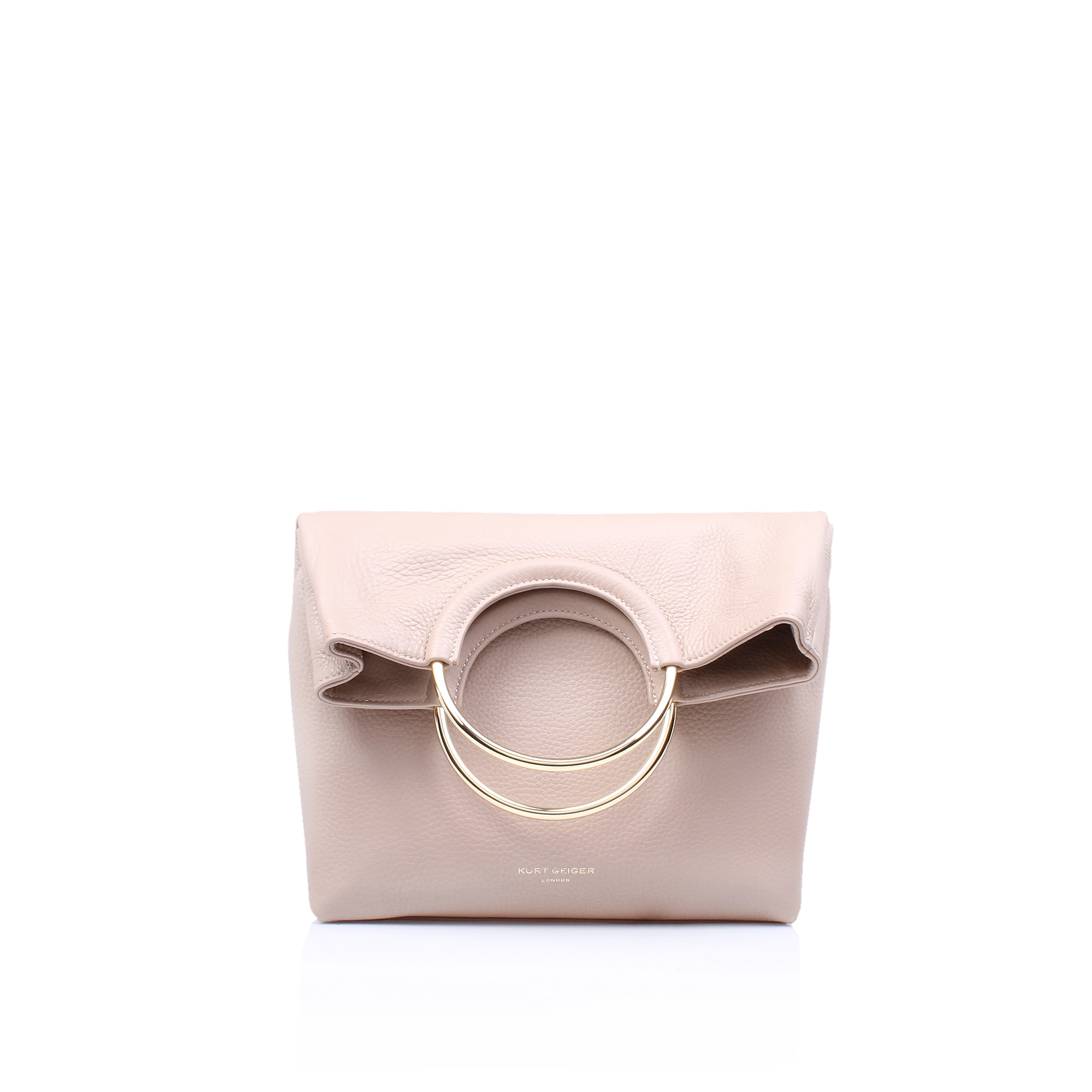 LEATHER BAGUE BAG