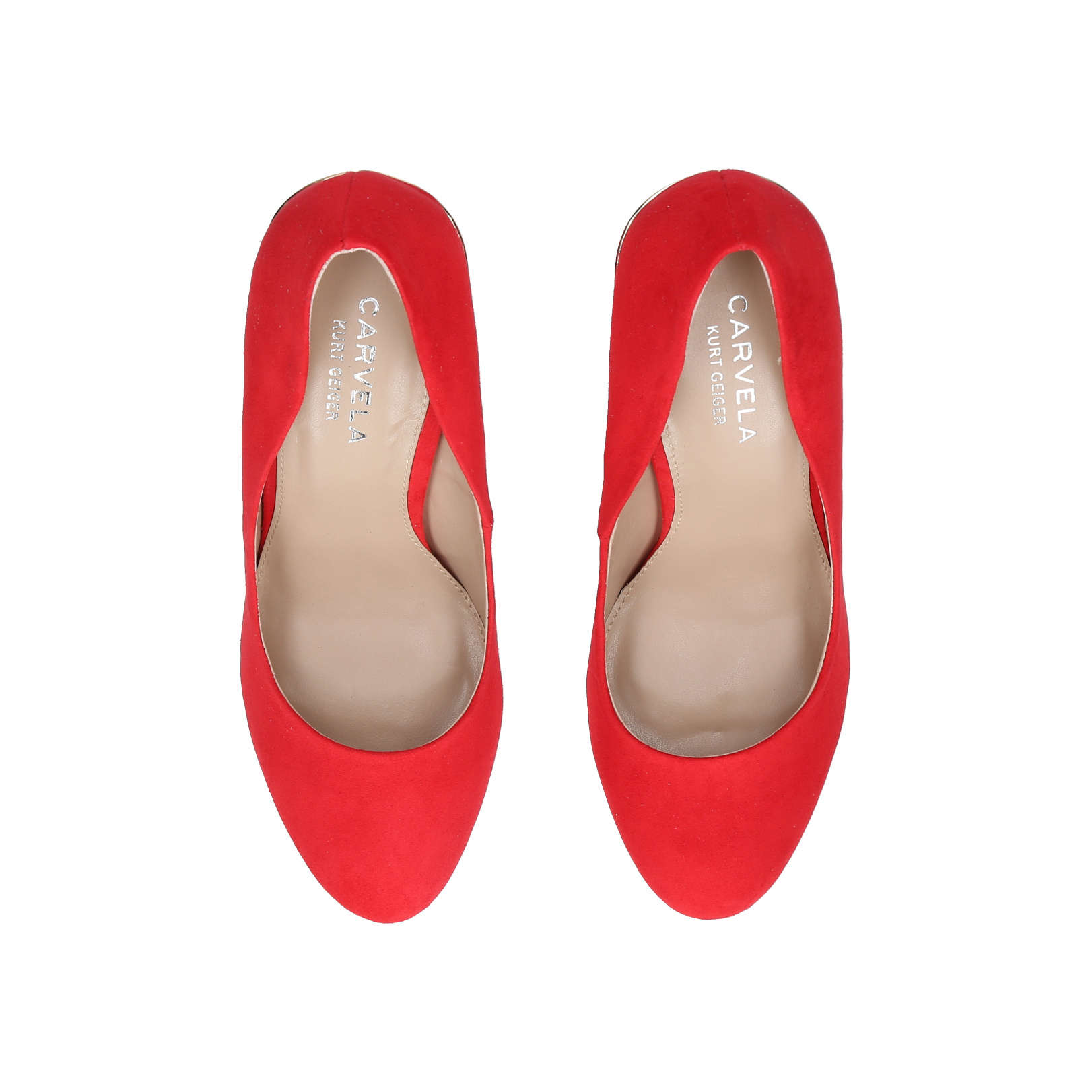 c7511e920ccc KENDRA Carvela Kendra Red High Heel Court Shoes by CARVELA