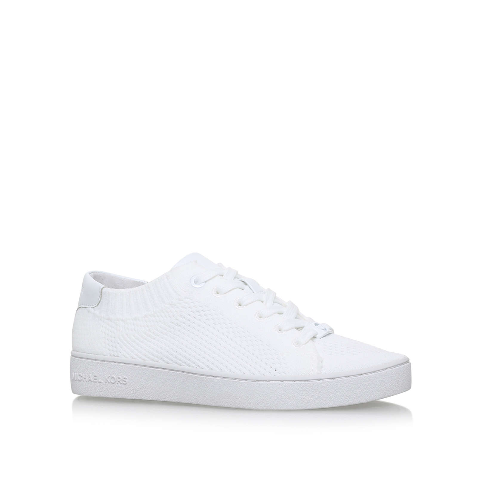 0395b60dced73 SKYLER LACE UP Michael Michael Kors Skyler Lace Up White Trainer by MICHAEL  MICHAEL KORS