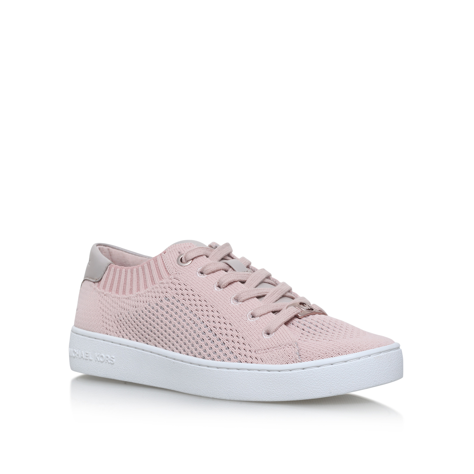 8927c715ca76a SKYLER LACE UP Michael Michael Kors Skyler Lace Up Pale Pink Trainer by MICHAEL  MICHAEL KORS