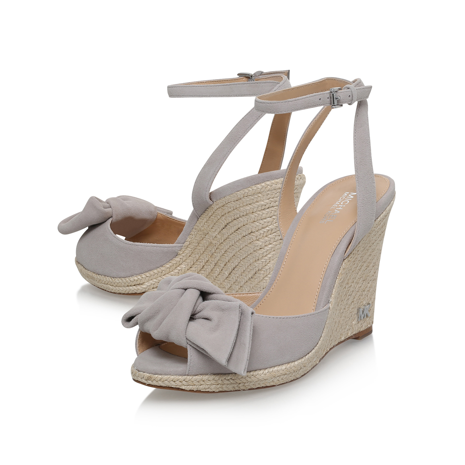 c78c39ab5be5 WILLA WEDGE Michael Michael Kors Willa Mid Grey High Heel Sandals by ...