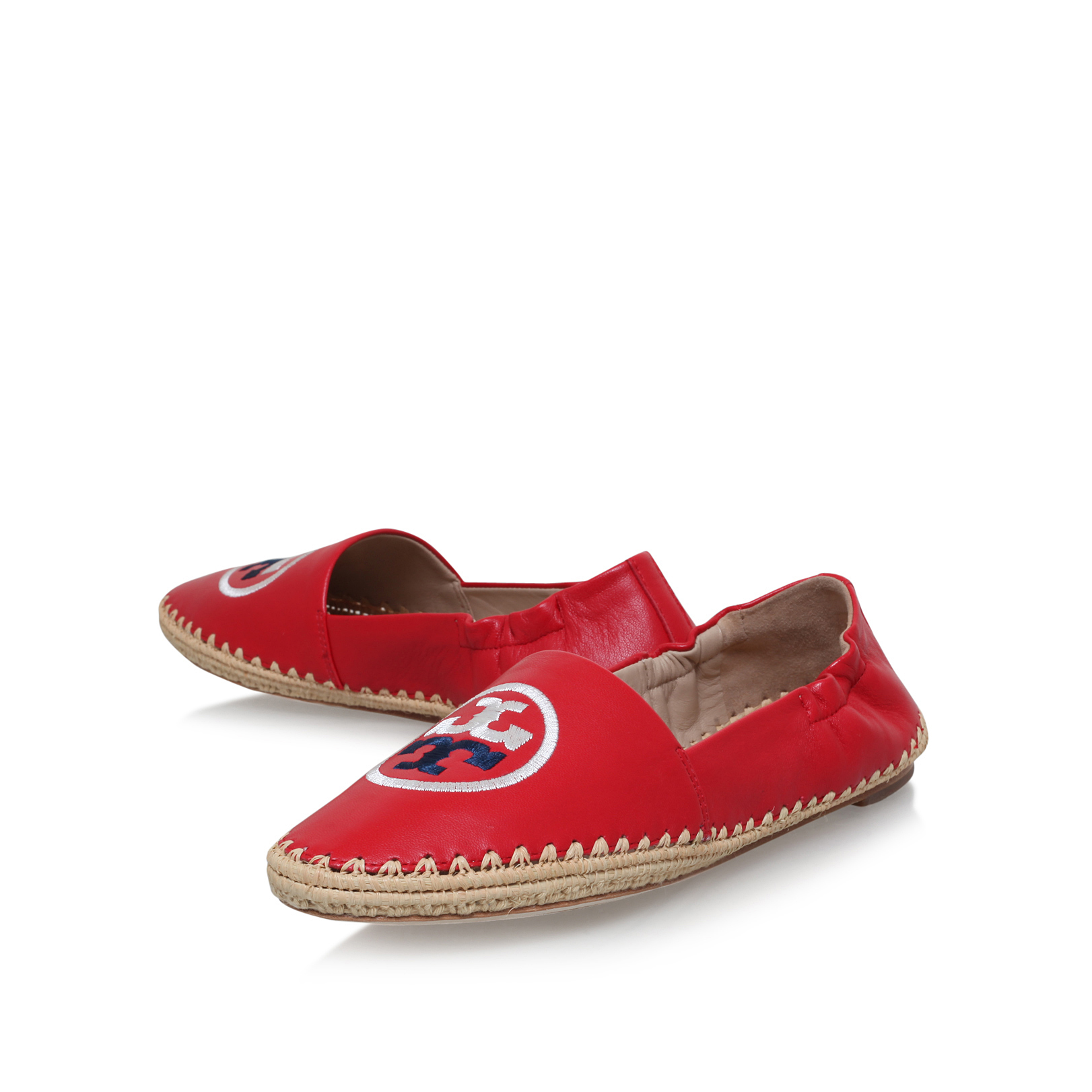 30574bdfaf5 DARIEN LOAFER  Tory Burch Darien Loafer Red Leather Sandal  by TORY ...