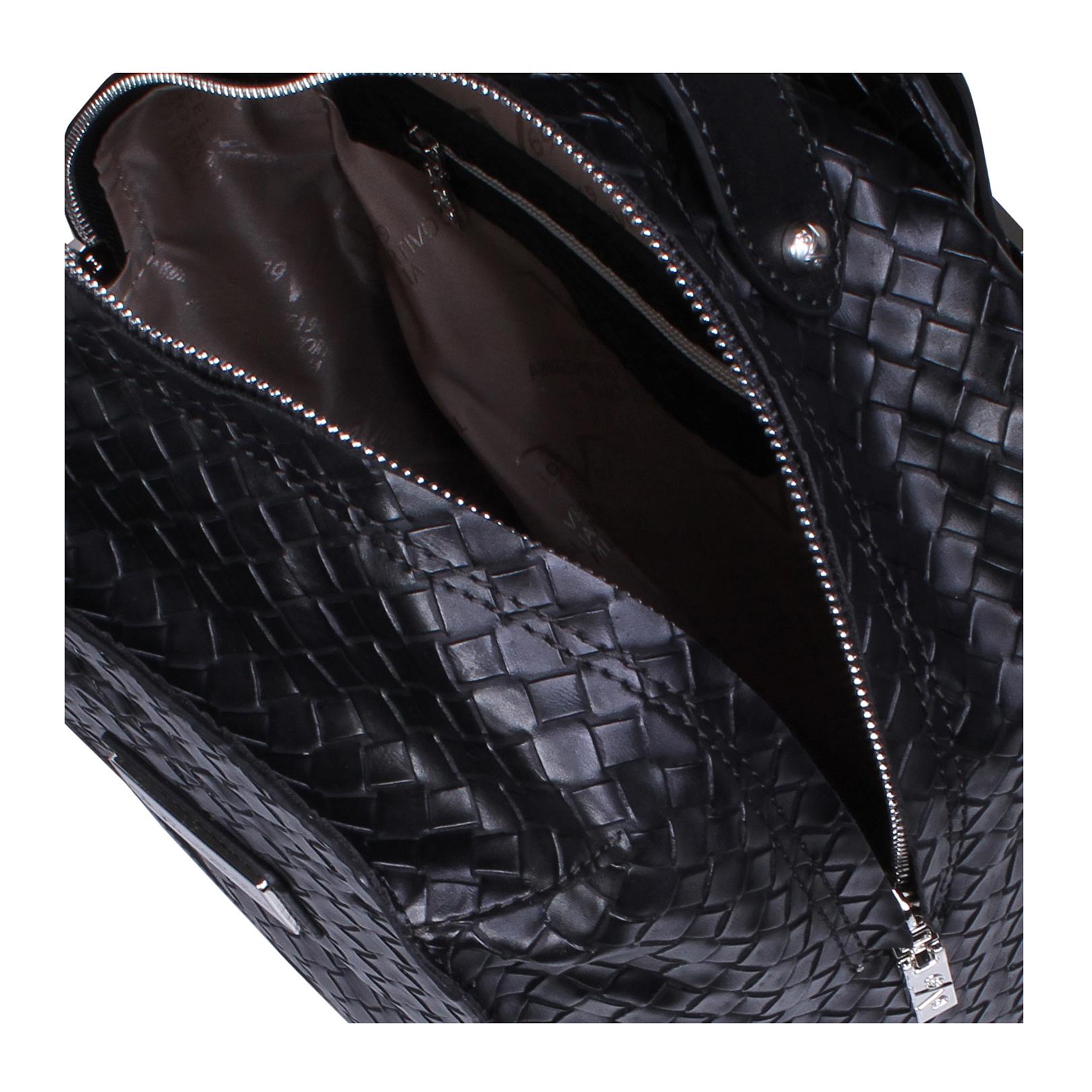 millie versace 1969 millie black day bag by versace 1969. Black Bedroom Furniture Sets. Home Design Ideas