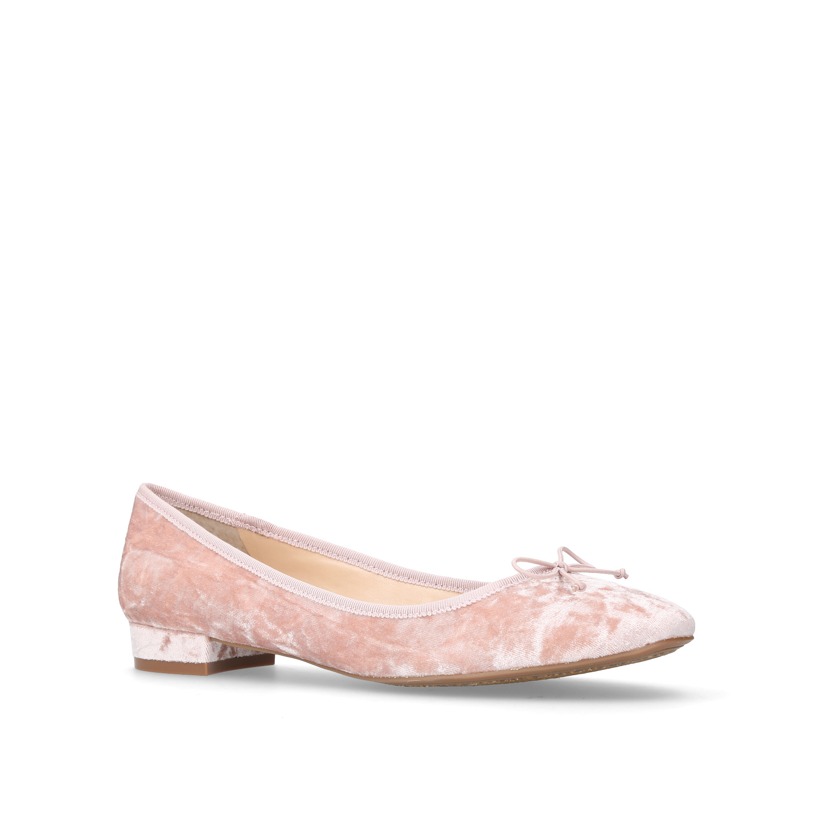 Adema Pale Pink Flat Ballerina Shoes By Vince Camuto 1snYisXn