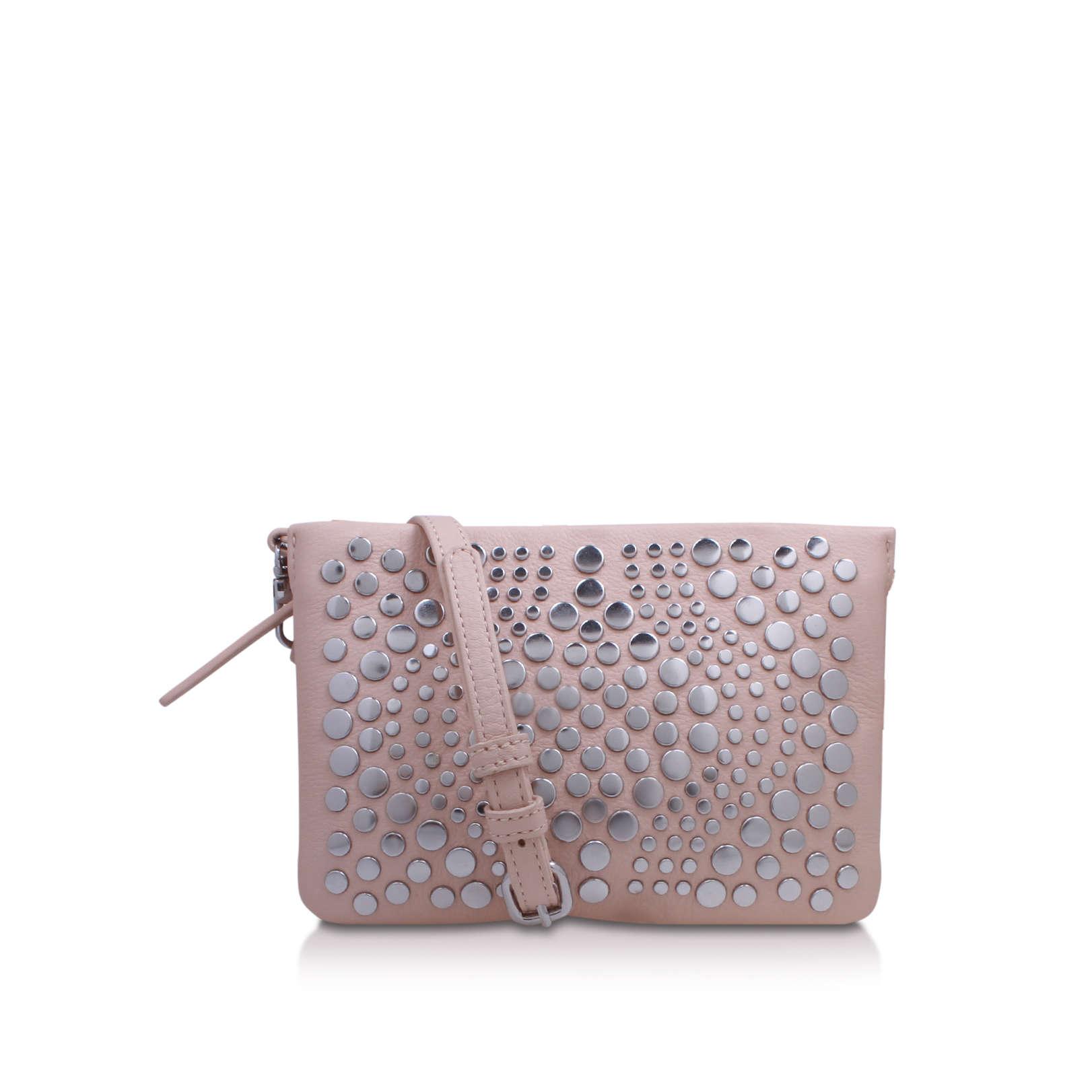 275de3619b2348 BONNY SMALL CROSSBODY Vince Camuto Bonny Small Crossbody Pale Pink Leather  Handbag by VINCE CAMUTO