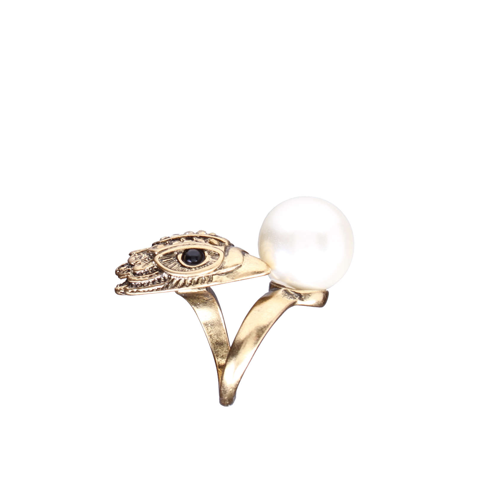 EAGLE AND PEARL RING