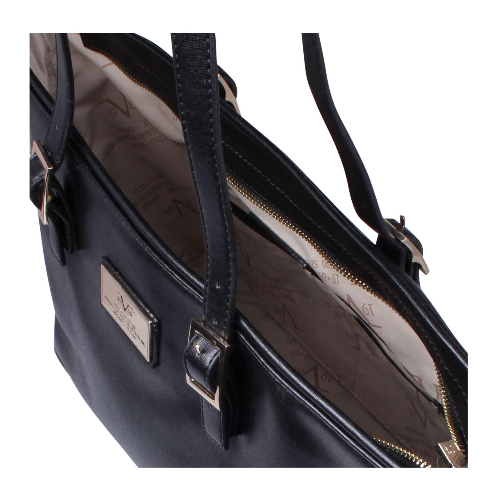 shen versace 1969 shen black handbag by versace 1969. Black Bedroom Furniture Sets. Home Design Ideas