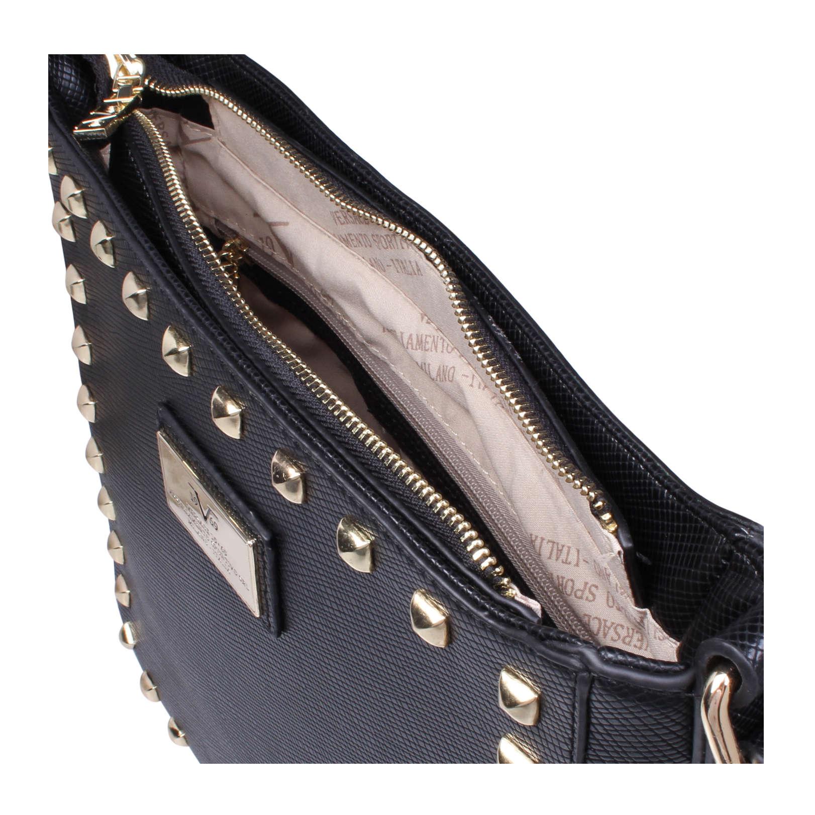 star versace 1969 star black handbags by versace 1969. Black Bedroom Furniture Sets. Home Design Ideas