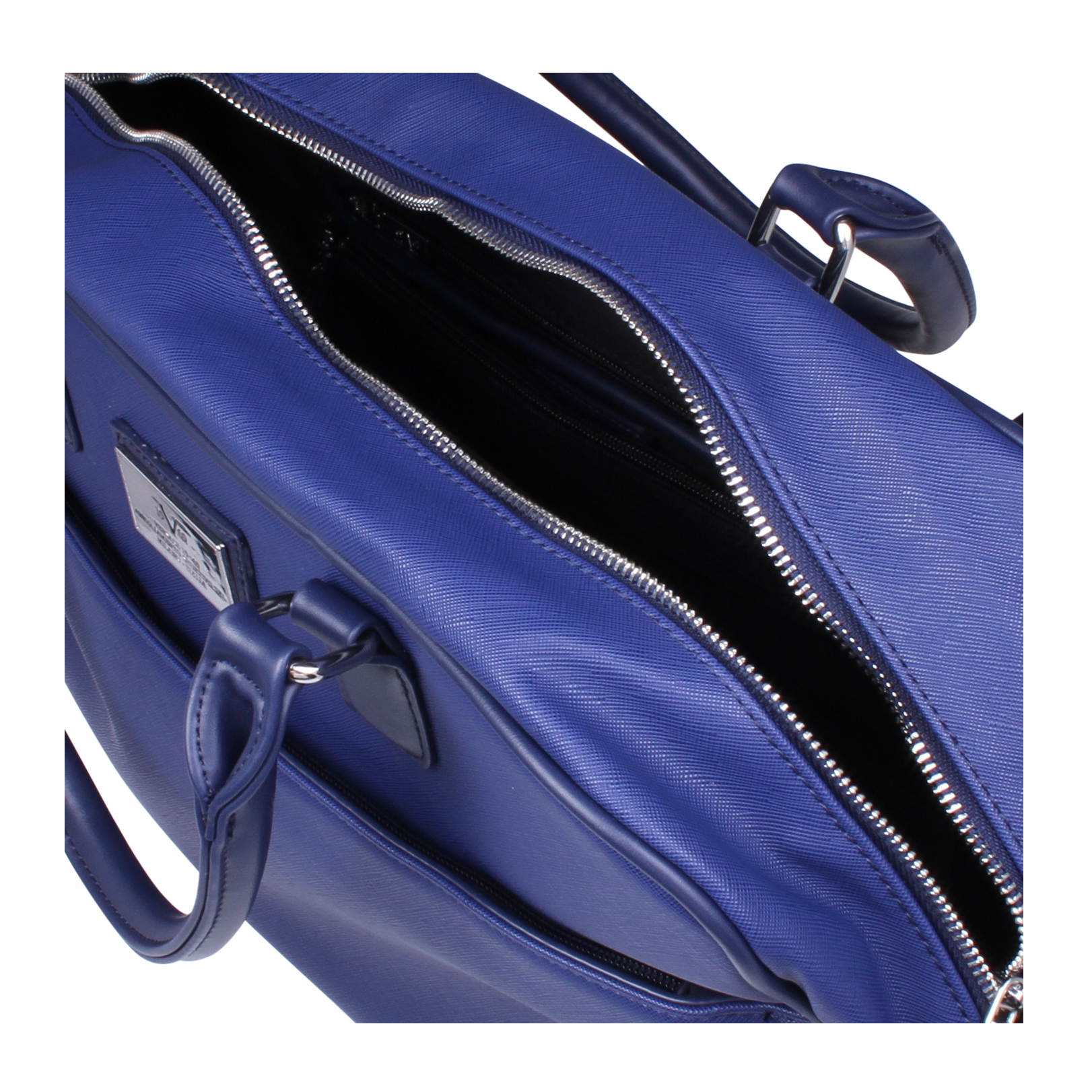 newland versace 1969 newland blue handbags by versace 1969. Black Bedroom Furniture Sets. Home Design Ideas