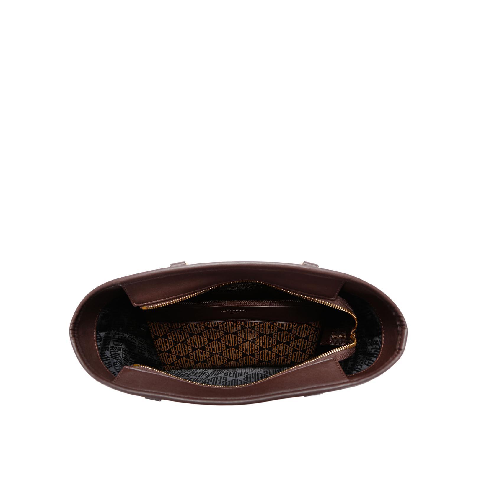 isabella versace 1969 isabella brown handbags by versace 1969. Black Bedroom Furniture Sets. Home Design Ideas