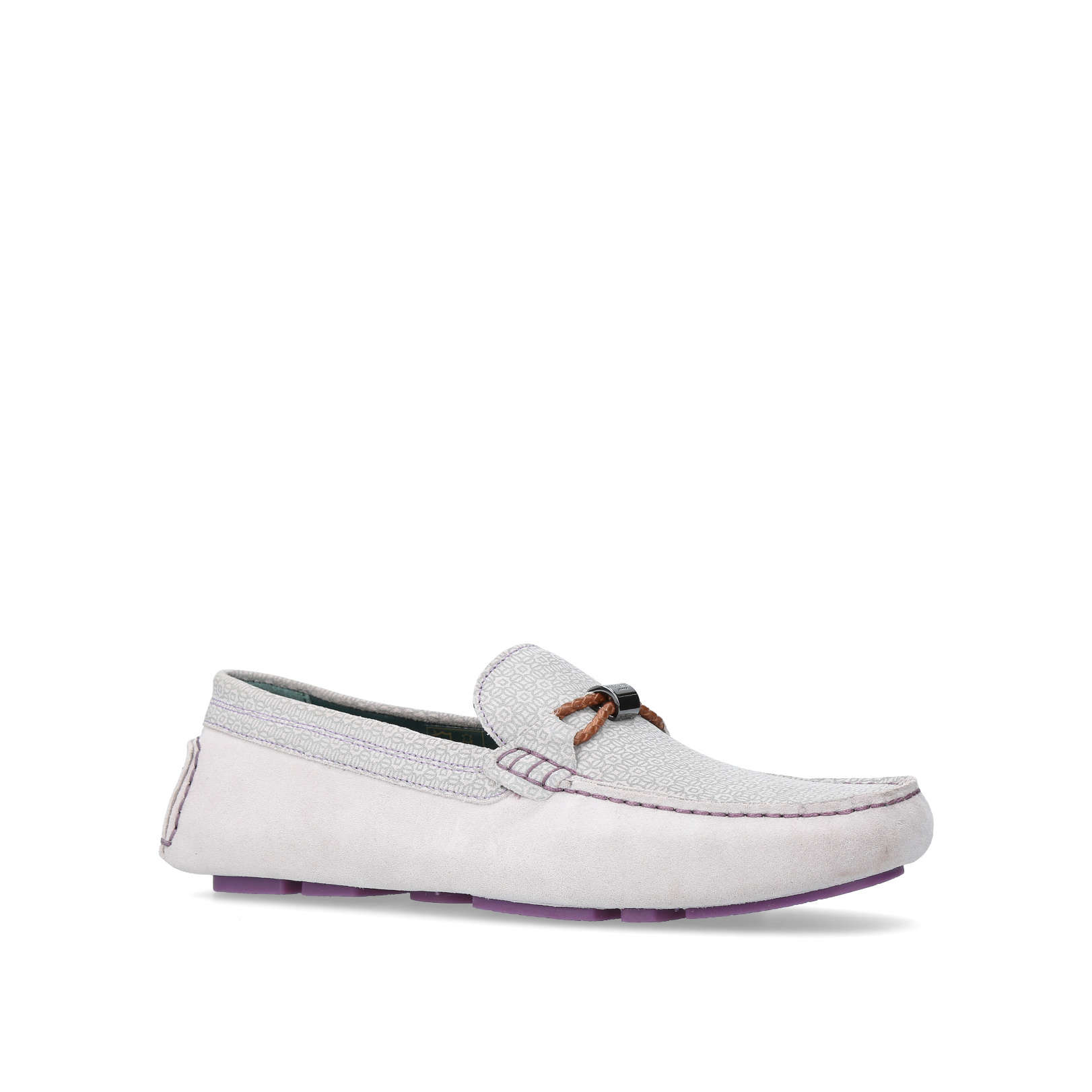 5e608eaf2e5 CARLSUN Ted Baker Carlsun Light Grey Suede Casuals by TED BAKER