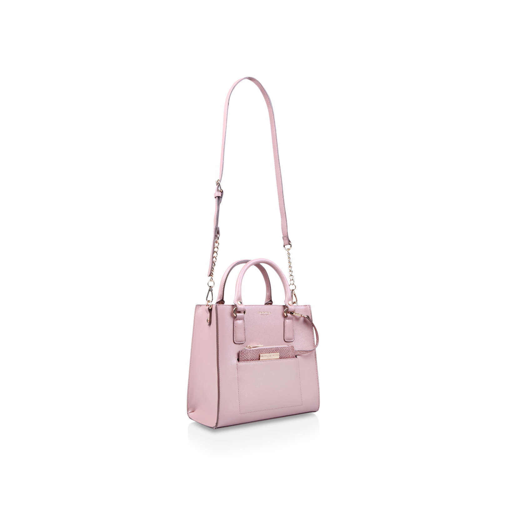 9e2803ec444b SIMBA POCKET PURSE TOTE Carvela Simba Pocket Purse Tote Pink Handbag ...