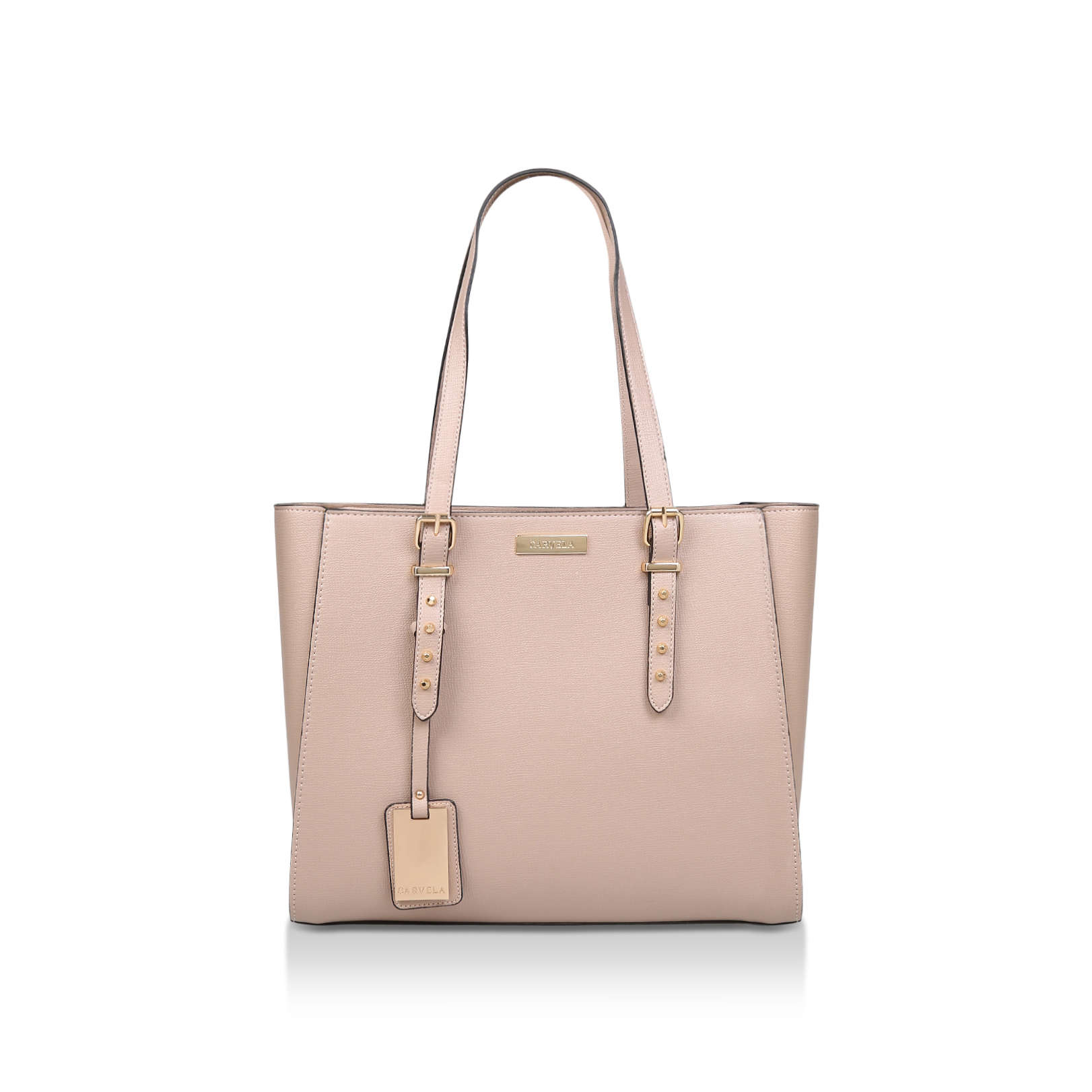 SAMMY STUDDED WINGED TOTE