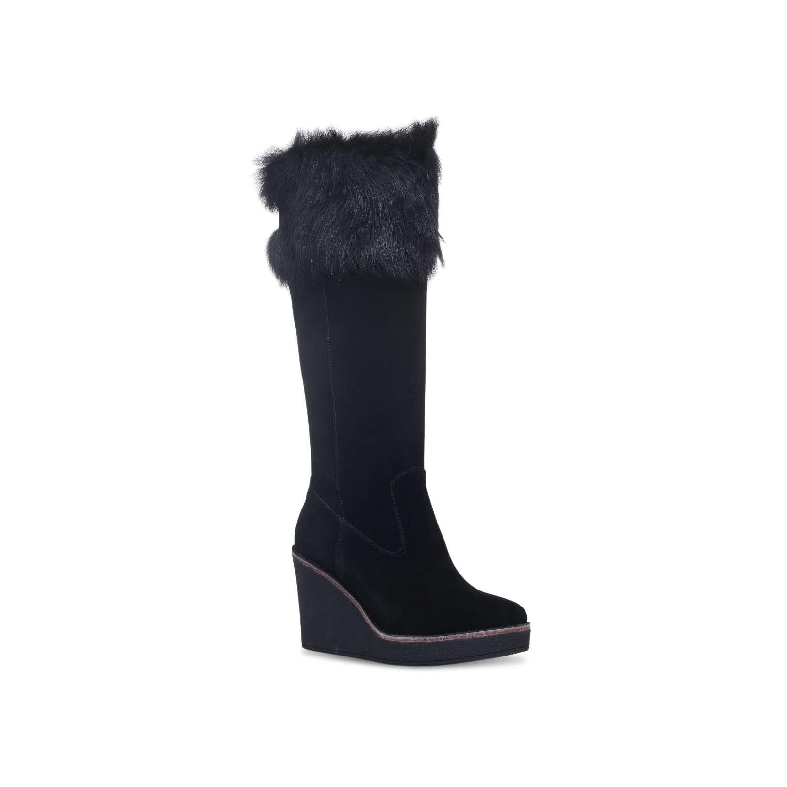 2597e39755ba VALBERG Ugg Australia Valberg Black Suede High Leg Boots by UGG