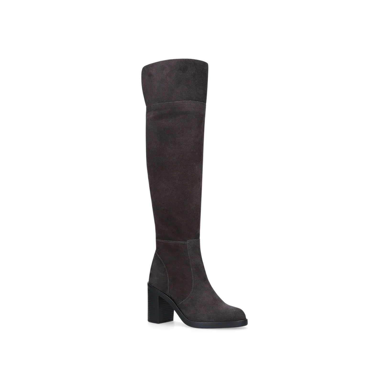 f141d00fa4e TRING Tring 85 Mm Heel High Leg Boots Kurt Geiger London Grey by ...