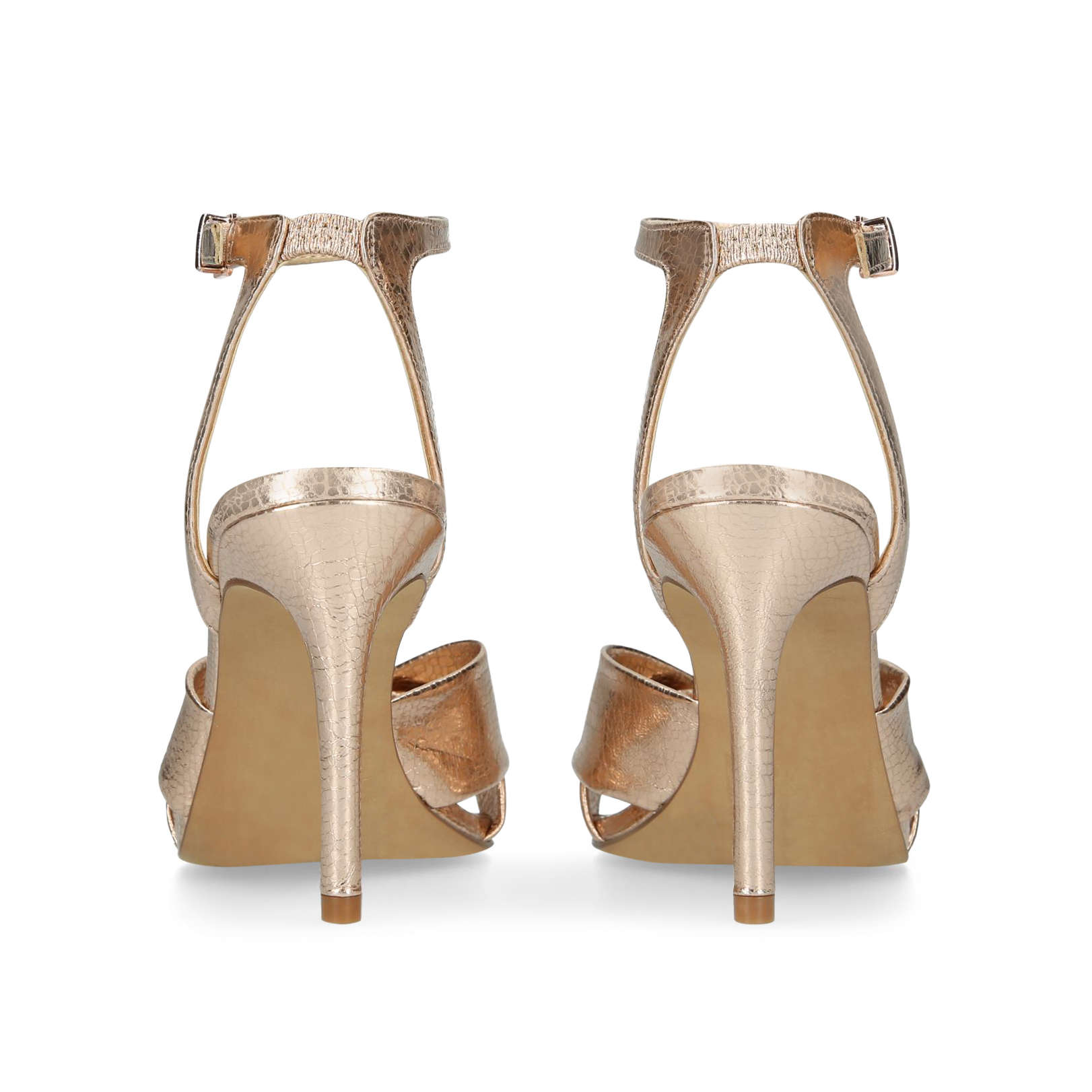 765582231ba Vince Camuto   JENIKA Gold High Heel Sandals by VINCE CAMUTO