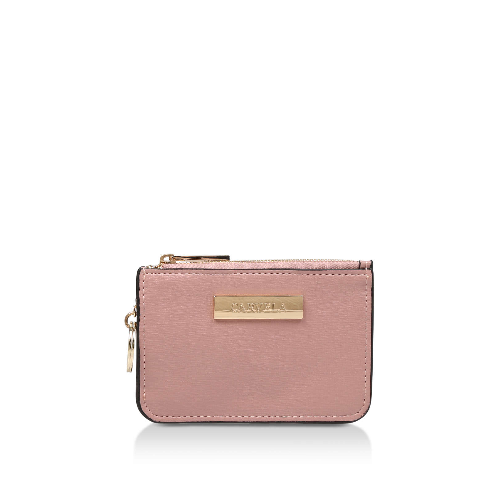 SHELLY CLEAR BACK PURSE