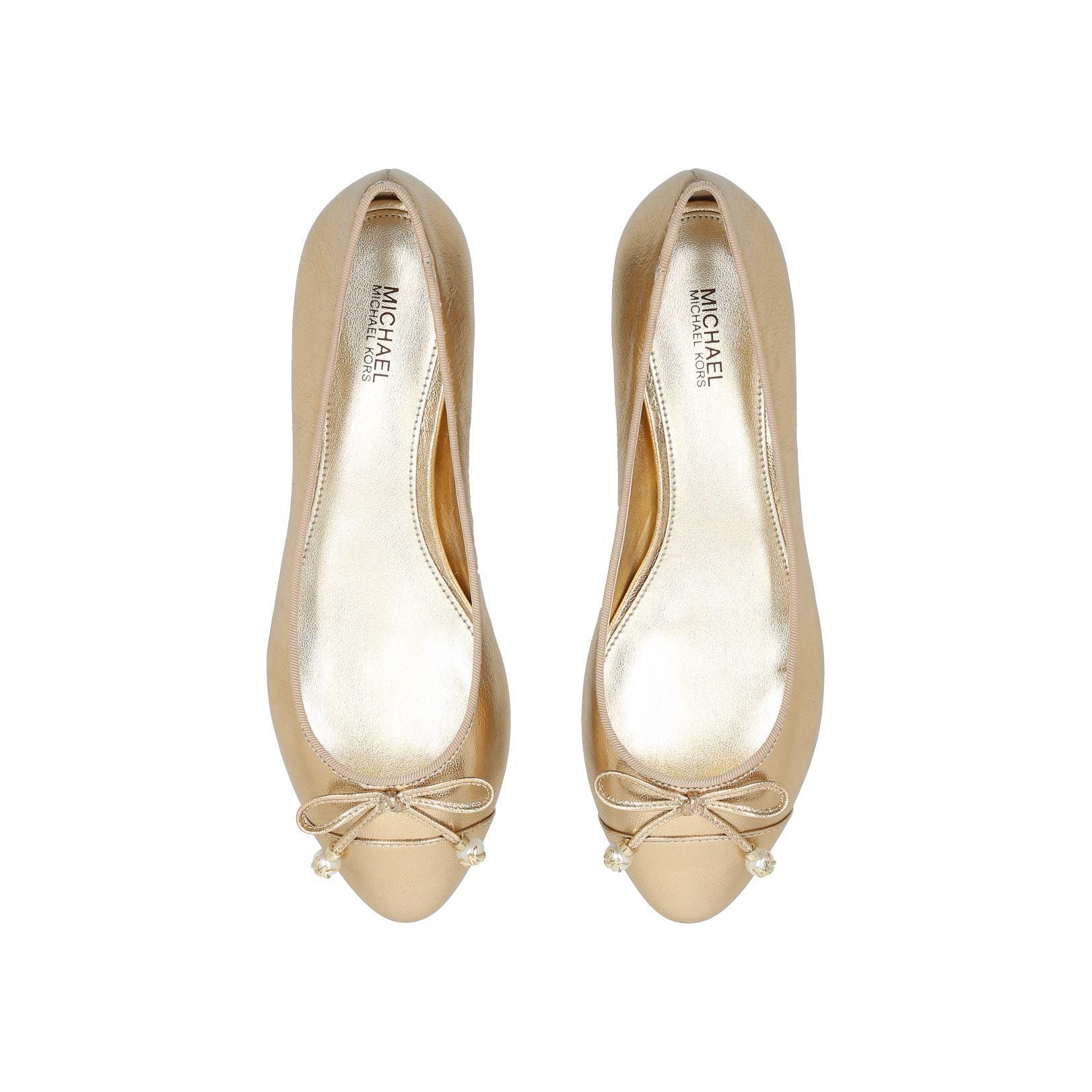 422694517e7c GIA PEARL BALLET Gia Pearl Ballet Flats Michael Michael Kors Gold by ...