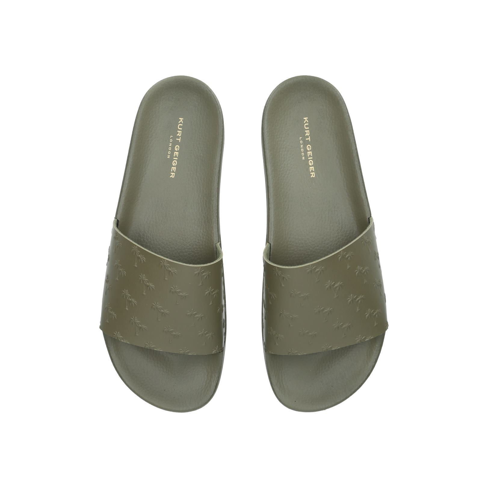3b8032eb81f2 WAIKATO PALM Waikato Palm Sandals Kurt Geiger London Khaki by KURT ...